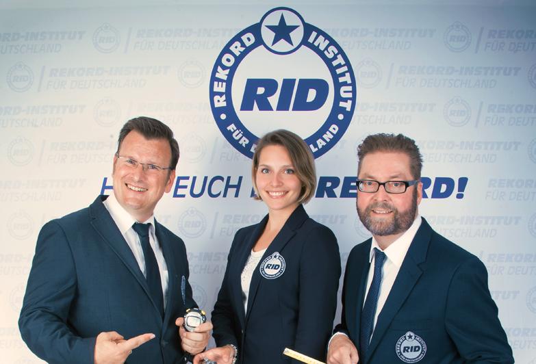 DIE RID-REKORDRICHTER
