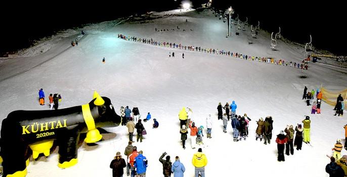längste skihalle der welt