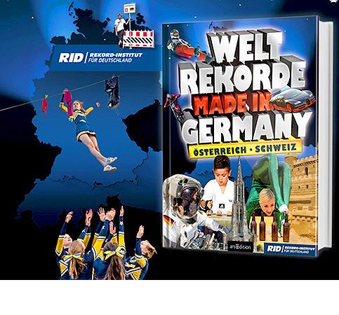 Was genau ist im Buch der deutschen Weltrekorde verzeichnet?